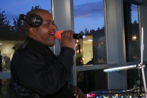 Seattle DJ Brodini on the mic